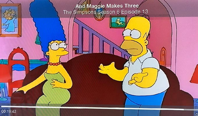What's wrong with this Simpsons scene? | Producer unearths a big error