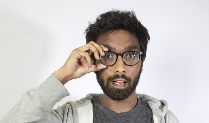Suren Jayemanne: Eat Praline, Die | Melbourne International Comedy Festival review by Steve Bennett