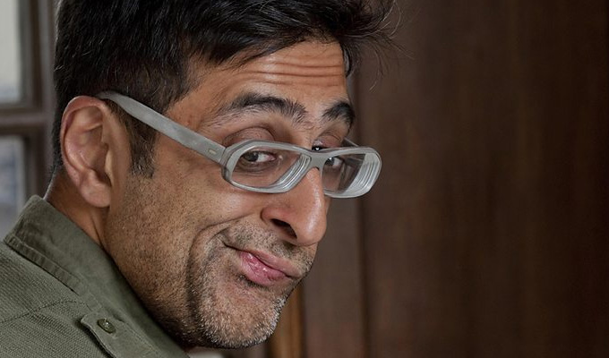 Sanjeev Kohli takes on Scottish independence | ...but Open All Hours may have scuppered his sitcom