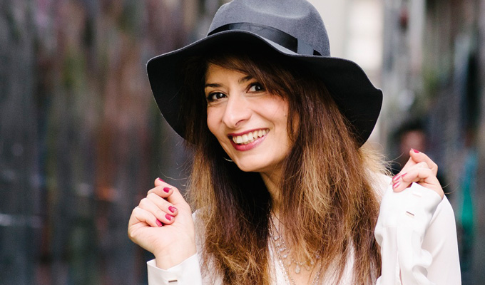 Shappi Khorsandi joins I'm A Celebrity | Comedian jets in to Australia