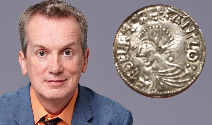 Frank Skinner's coining it in | Comic spends hundreds on Anglo-Saxon artifact