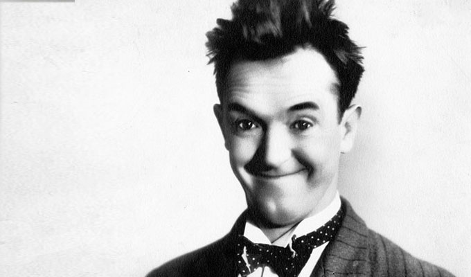 Stan Laurel crowned Britain's greatest comedian | Vintage star heads Gold's top 30