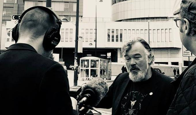 Stewart Lee films post-punk documentary | The Nightingales movie also features Frank Skinner