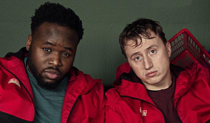 'It's comedy. If you're not laughing, you're in trouble' | Samson Kayo and Theo Barklem-Biggs  on new sitcom Sliced