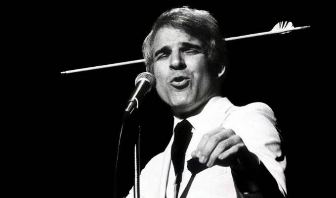 For sale: Steve Martin's iconic white suit | A bit of stand-up history goes under the hammer