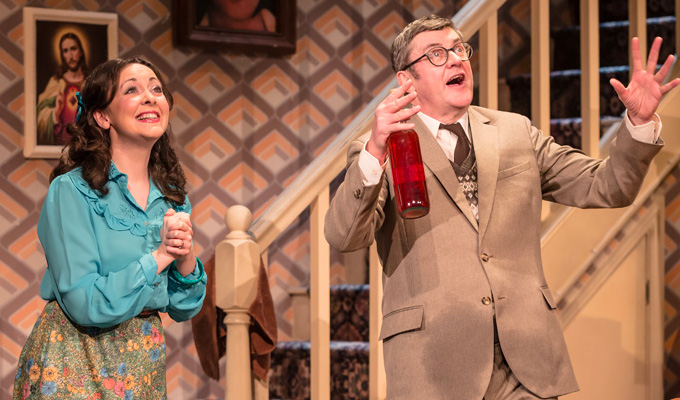 Joe Pasquale in Some Mothers Do Ave Em | Review by Steve Bennett at the Churchill Theatre, Bromley