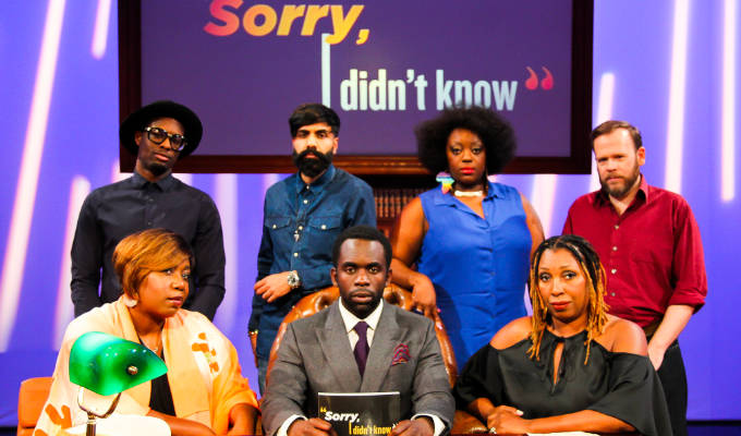 ITV orders a Black History Month panel show | Jimmy Akingbola to host four episodes of Sorry I Didn't Know