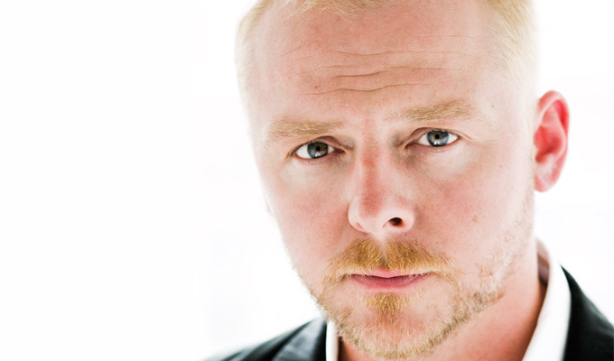 Simon Pegg to play schizophrenic record producer | In new movie Lost Transmissions