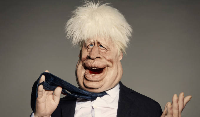 Boris's Spitting Image puppet revealed | Plus caricatures of Dominic Cummings and Prince Andrew