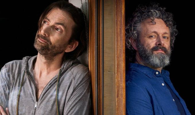 Second Staged | New series for David Tennant and Michael Sheen's lockdown comedy