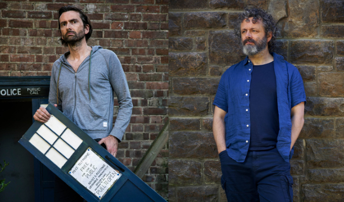 'I may never leave the house again...' | Michael Sheen and David Tennant on their lockdown comedy, Staged