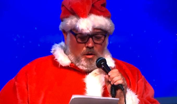 Stewart as Santa