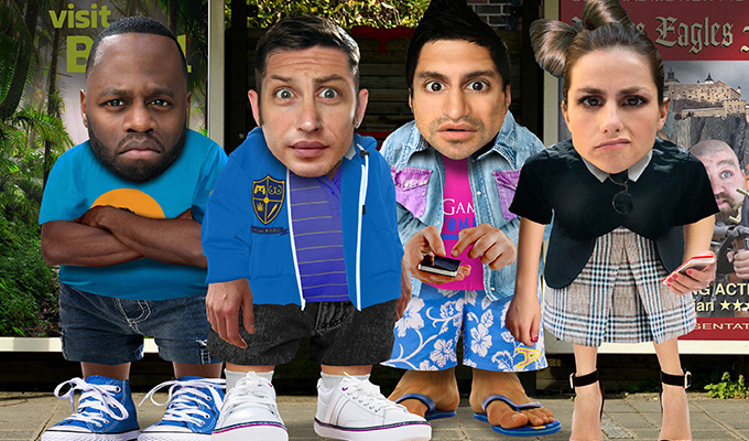 Six new Comedy Slices for BBC Three | Tom Hardy, Charlotte Riley and Kayvan Novak lead the casts