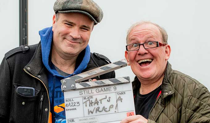 That's Game over... | Still Game films its last scenes
