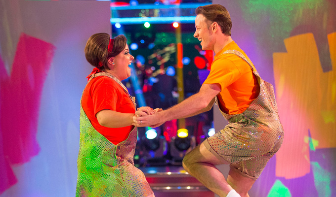 Susan Calman's back in the jiving seat | Comic makes the top five in this week's Strictly