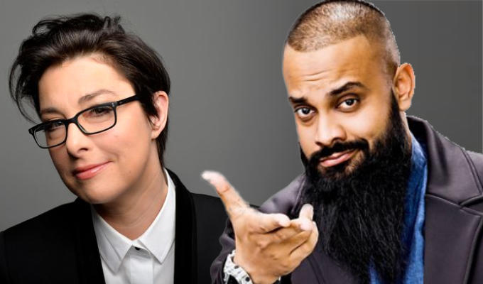 Sue Perkins and Guz Khan sign up to Comedy Central game show | Celebrity Game Night to be presented by Liza Tarbuck