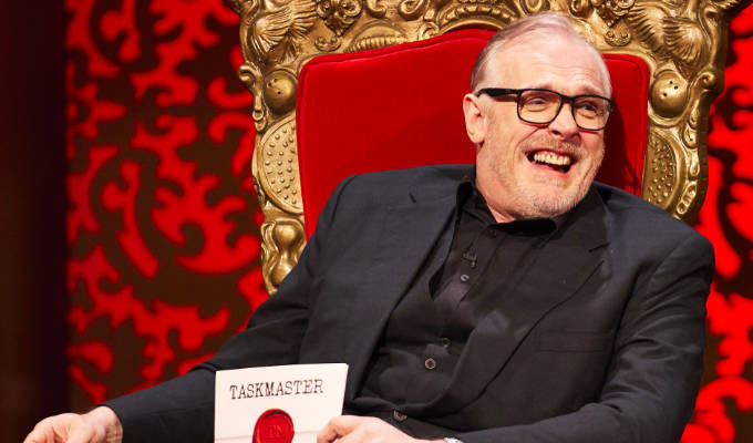 What the f***'s wrong with Taskmaster? : Punching Up 2021 :     Chortle : The UK Comedy Guide