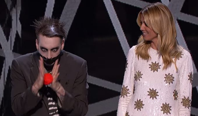 Tape Face makes America's Got Talent semis | Audience vote him through