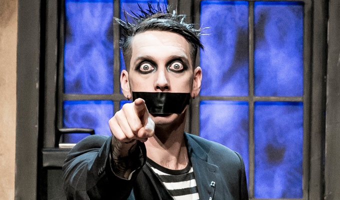 Tape Face gets stuck into Vegas | Three-year residency for America's Got Talent finalist