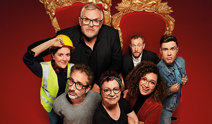 Meet the contestants on Taskmaster Series 9 | Interview with David Baddiel, Jo Brand, Ed Gamble, Rose Matafeo and Katy Wix