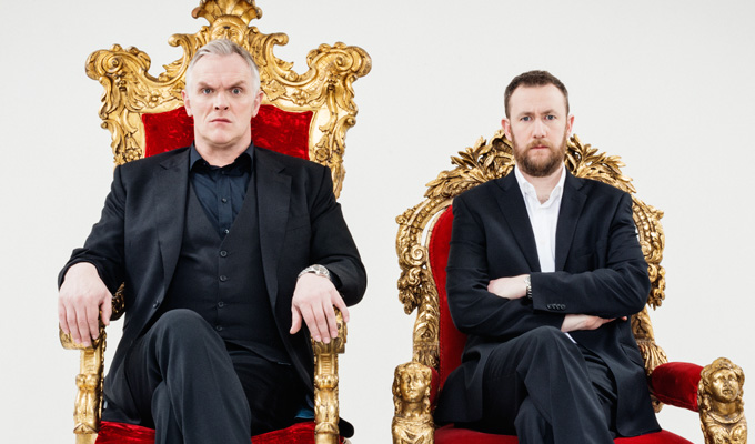 The podcast taking Greg Davies to task... | Today's best comedy on demand