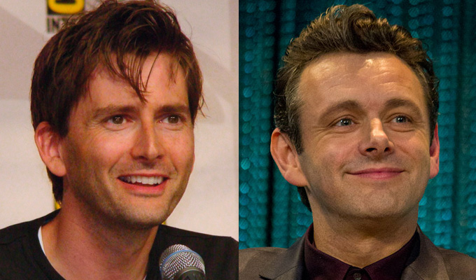 Michael Sheen and David Tennant cast in Good Omens comedy | From Neil Gaiman and Terry Pratchett