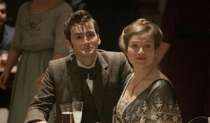 David Tennant and Jessica Hynes to star in new comedy ... Jessica Hynes Doctor Who