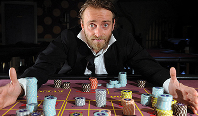 Tim Fitzhigham: The Gambler
