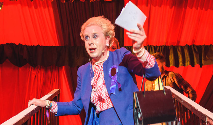 On Yer Bike - The Maggie Thatcher Game Show! | Latitude review by Steve Bennett