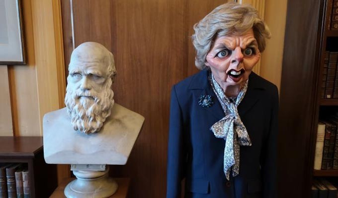 Spitting Image archive finds a home at Cambridge University | Thatcher's puppet now on display