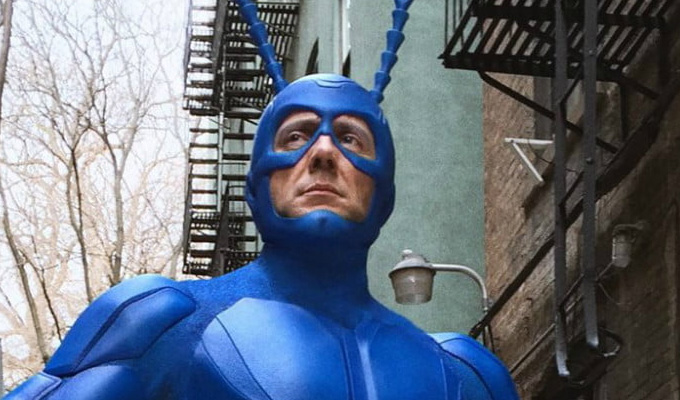 Another series? Tick | Amazon renews Peter Serafinowicz's superhero comedy
