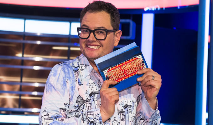Alan Carr's panel show gets another sequel... | The week's best comedy on TV and radio