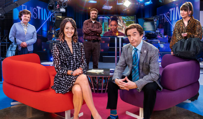 This Time With Alan Partridge series two | TV review by Steve Bennett