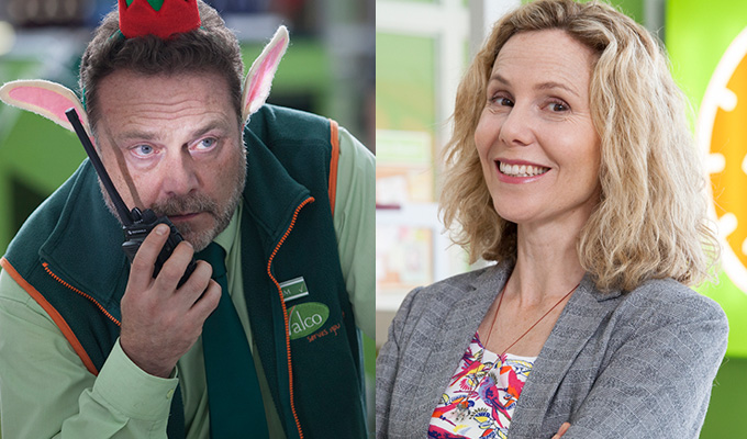 John Thomson and Sally Phillips join Trollied | Sky sitcom to return for seventh series