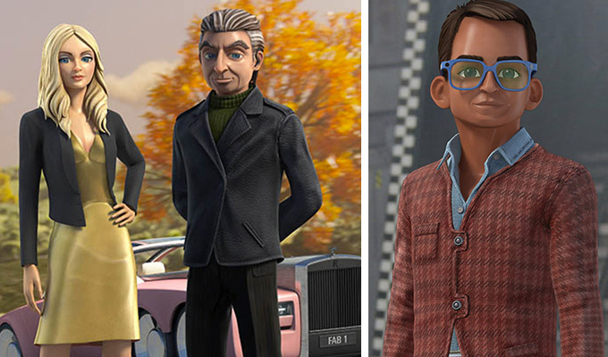 David Baddiel to write Thunderbirds reboot | And Kayvan Novak will be Brains