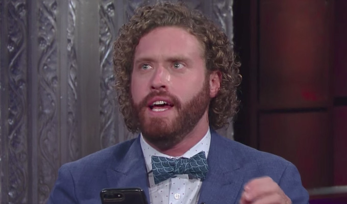 TJ Miller reviews the reviewer | Comic mocks critic for taking him seriously