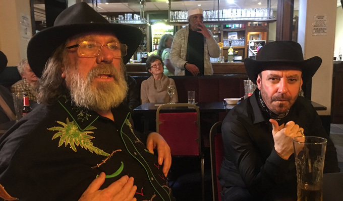 Johnny Vegas and Ricky Tomlinson shoot comedy pilot | Set in the working-class clubs