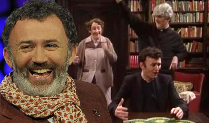 Did I play a part in Dermot Morgan's death? | Tommy Tiernan ponders the role of his energetic Father Ted scene