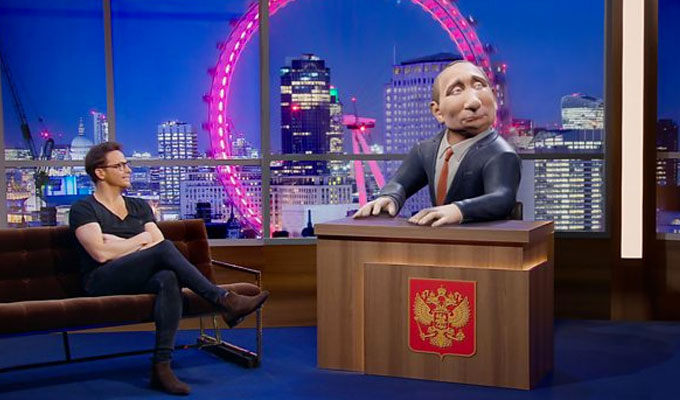 'Vladimir Putin' to front his own BBC chat show | New comedy show features a virtual reality Russian president
