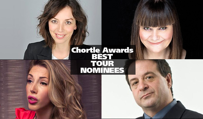 Latest on the Chortle Award nominees | All the shortlists so far...