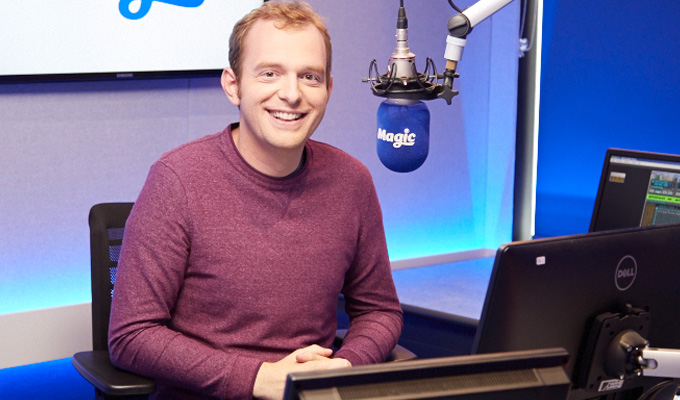 Tom Price's Magic move | Comedian joins London radio station