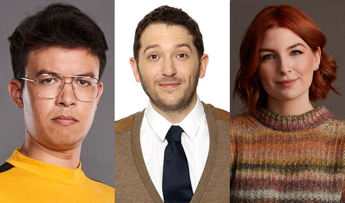 Comics journey into the future... | Tech travel show for Jon Richardson, Phil Wang and Alice Levine