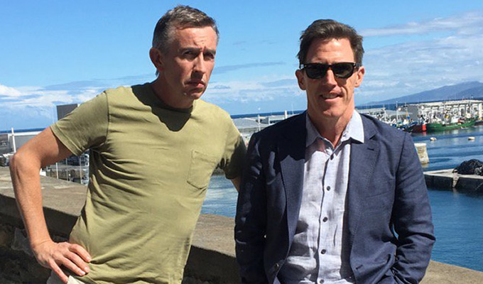Steve Coogan and Rob Brydon to go on another Trip | ..this time to Greece.