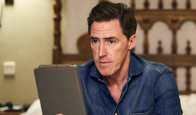 'I imagine that it looks like a jolly... and it is' | Rob Brydon on The Trip To Spain