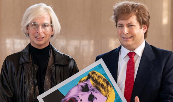 When Donald Trump met Andy Warhol | The best of the week's comedy on TV and radio