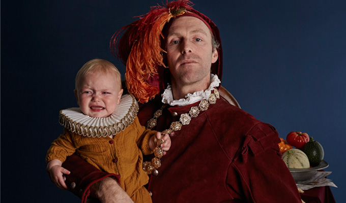 Comic performs Fringe show – with a baby | Trygve Wakenshaw's double act with his son