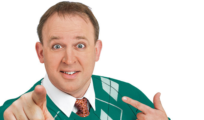 Tim Vine pilots TV show | Time-travelling adventure follows Radio 2 show