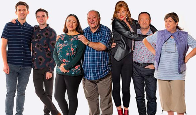 Two Doors Down returns for Christmas special | ...but don't mention the pandemic!