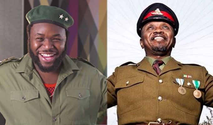 Dictators at war! | Angry comedian claims E4 has 'stolen' his character idea