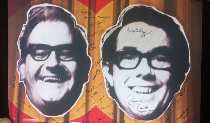 Win an exclusive Two Ronnies poster | To mark Gold's new tribute series